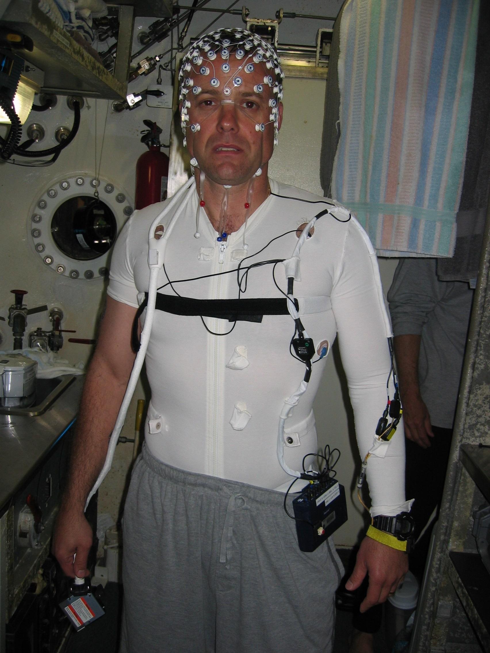Astronauta Ron Garin